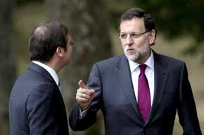 Rajoy no tiene 'la más mínima duda' del apoyo del PSOE a la ley de abdicación