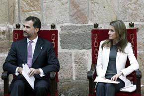 Don Felipe y Doña Letizia, futuros Reyes de España