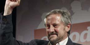 El candidato de Izquierda Unida en las elecciones europeas, Willy Meyer