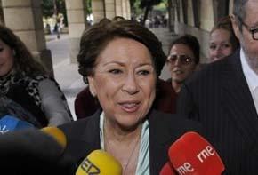 La exministra de Fomento Magdalena Álvarez