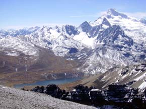 El nivel más alto de radiación ultravioleta, en los Andes bolivianos