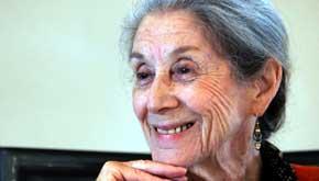 La escritora Nadine Gordimer en 2005 (Reuters)