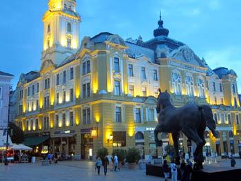 De Budapest a Pecs y de Pecs a Budapest