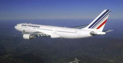Un avión de Air France  como este, es el que resulto siniestrado en el atlántico anteayer lunes.