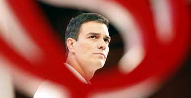 El nuevo secretario del PSOE, Pedro Sanchez. Foto: PSOE