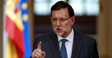 El presidente del Gobierno Mariano Rajoy durante la rueda de prensa (EFE)