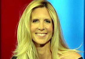 Ann Coulter en la Fox, cadena en la que colabora activamente/ Imagen de Fox News