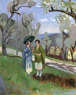Una de las obras de Matisse  en la exposición