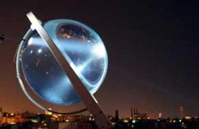 Revolucionarias placas solares generan energía incluso de la luz de la luna