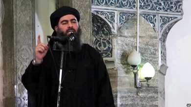 Abu Bakr al-Baghdadi es el líder de Estado Islámico y quien declaró la creación del califato en agosto de este año.
