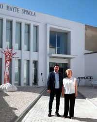 El Museo Mayte Spínola, inaugurado en su nueva sede de Marmolejo