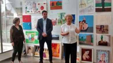 Claudia R. Torral, ganadora del certamen de Pintura Infantil en el Museo Mayte Spínola de Marmolejo
