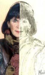 Teresa Ahedo, Exposición de dibujos, alegato contra la mujer maltratada en el espacio Barrainkua de Bilbao