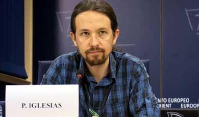 Pablo Iglesias, eurodiputado y líder de PODEMOS