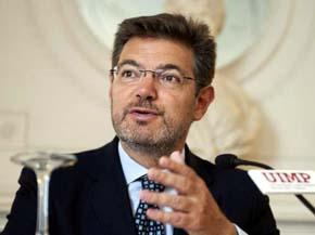 El hasta ahora secretario de Estado de infraestructuras, Transporte y Vivienda, Rafael Catalá, será el nuevo ministro de Justicia en sustitución de Alberto Ruiz Gallardón