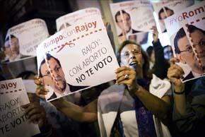Con el apoyo de los obispos, los antiabortistas impulsarán una alternativa al PP en las elecciones municipales