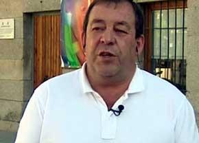 Mario de la Fuente, alcalde de Robledo de Chavela (Madrid), es entrevistado en La Sexta. Foto: captura de `Más Vale Tarde´