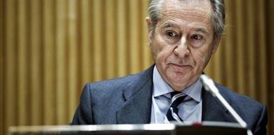 El expresidente de Caja Madrid Miguel Blesa, durante su comparecencia en la Comisión de Economía del Congreso. EFE/Archivo