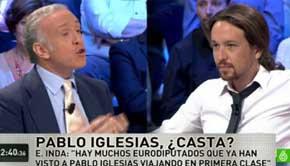 """Pablo Iglesias niega que vuele en primera clase: """"Pregunten a los trabajadores de Iberia"""""""