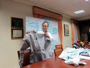 EEUU ofrece un millón de dólares al traje más eficaz para protegerse contra el ébola