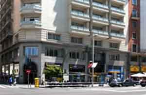 El Hotel Menfis de Madrid, donde hice mis prácticas para 'azafato' de Iberia...
