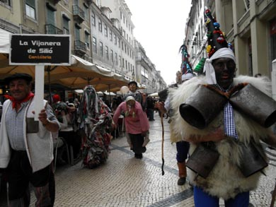 La Vijanera, el primer carnaval de invierno de España volvió a revivirse en Silió