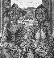 Catálogo de dibujos de Rafael Zabaleta, editados por el Instituto de Estudios Gienenses con texto de Miguel Viribay