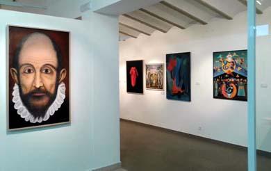 Inauguración de la Exposición Grecontemporáneo en Villanueva De Los Infantes