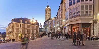 Vitoria, ciudad amurallada