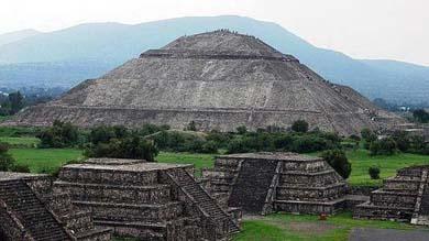 Imagen de Teotihuacán, ciudad que cuenta con varias similitudes con Nixtun-Ch'ich'