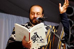 Theodoro Elssaca, Recital poético en la Casa de Castilla La Mancha