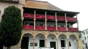 Ronda, pueblo blanco de Málaga Bien de Interés Cultural con entorno natural