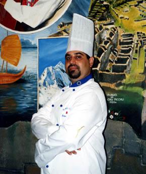 """Gonzalo Amorós Figueroa, Chef de """"El Inti de Oro""""(Foto: Juan Ignacio Vera)"""
