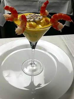 Cocktail de Langostinos Huancaíno