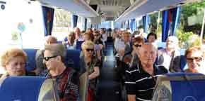 Arrancan los viajes del Imserso para península y costas