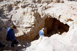 La tumba de 2.900 años de antigüedad