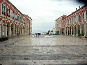 El Palacio de Diocleciano en Split (Croacia)