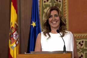 Susana Díaz, presidenta de la JJ.AA.