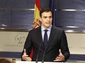 Pedro S�nchez no descarta un gobierno de coalici�n: