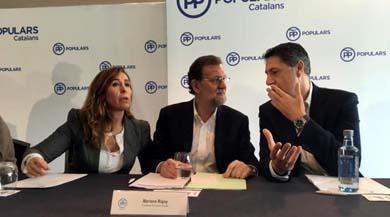 Rajoy insiste en un Gobierno del PP con apoyo del PSOE y C's: