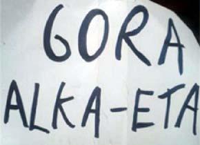 Cartel Gora ETA