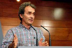 El director del Centro de Coordinaci�n de Alertas y Emergencias Sanitarias del Ministerio, Fernando Sim�n