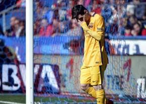 Leo Messi ser� operado por problemas renales / AFP