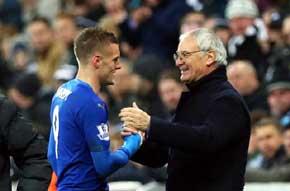 Vardy y Ranieri, dos de los pilares del �xito del Leicester / Getty Images