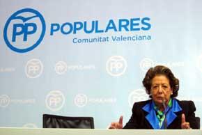 Rita Barber�, senadora del PP