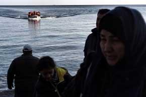 Mueren ahogados 11 ni�os en un nuevo naufragio frente a la costa de Turqu�a