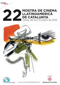 La mostra de cinema Llatinoameric� de Catalunya presenta el cartell de la 22a edici�