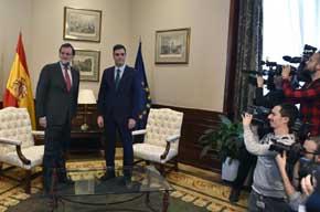 Rajoy y S�nchez