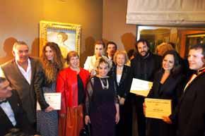Entrega de los I Premios Grupo pro Arte y Cultura-Mayte Spínola