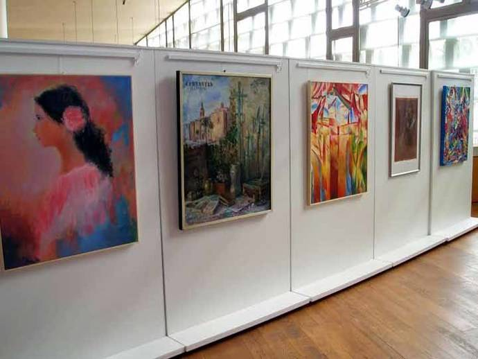 """Inauguración de la Exposición Itinerante de pinturas """"Cervartes"""" a su paso por Guadalajara"""